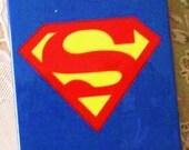 iPhone 4 and iPhone 4S Blue Superman Comic Book Superhero Print case