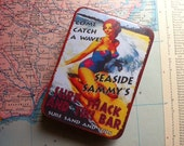 Surf Shack Tiny Travel Vintage Tin First Aid Kit