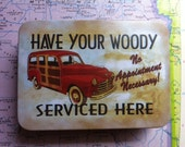 Have Your Woody Serviced Here Travel First Aid Kit