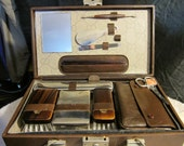 Vintage 1960's Travel Kit from Germany..High Quality
