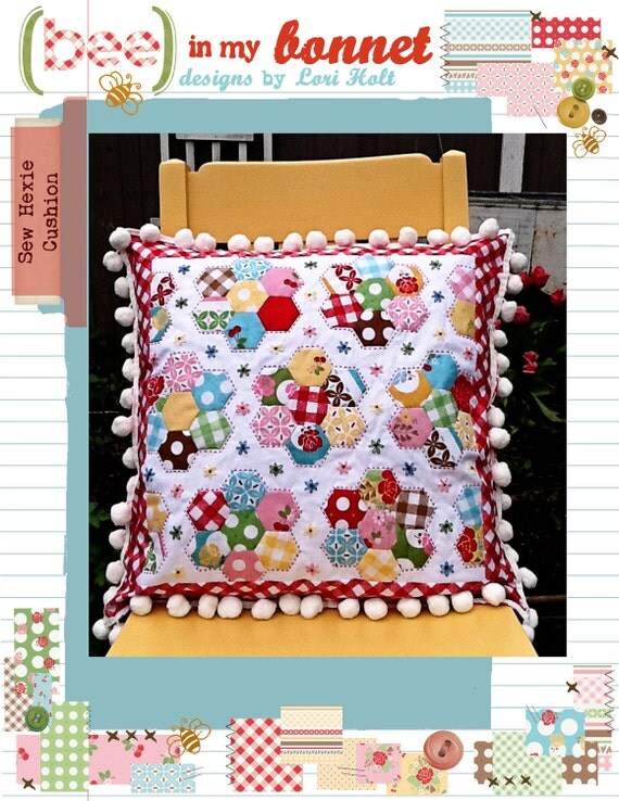 Sew Hexie Cushion