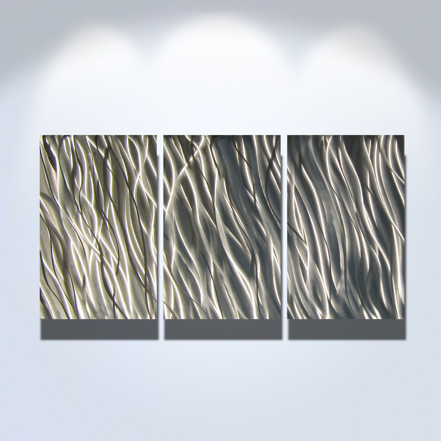 Metal Wall Art Decor Aluminum Abstract Contemporary Modern