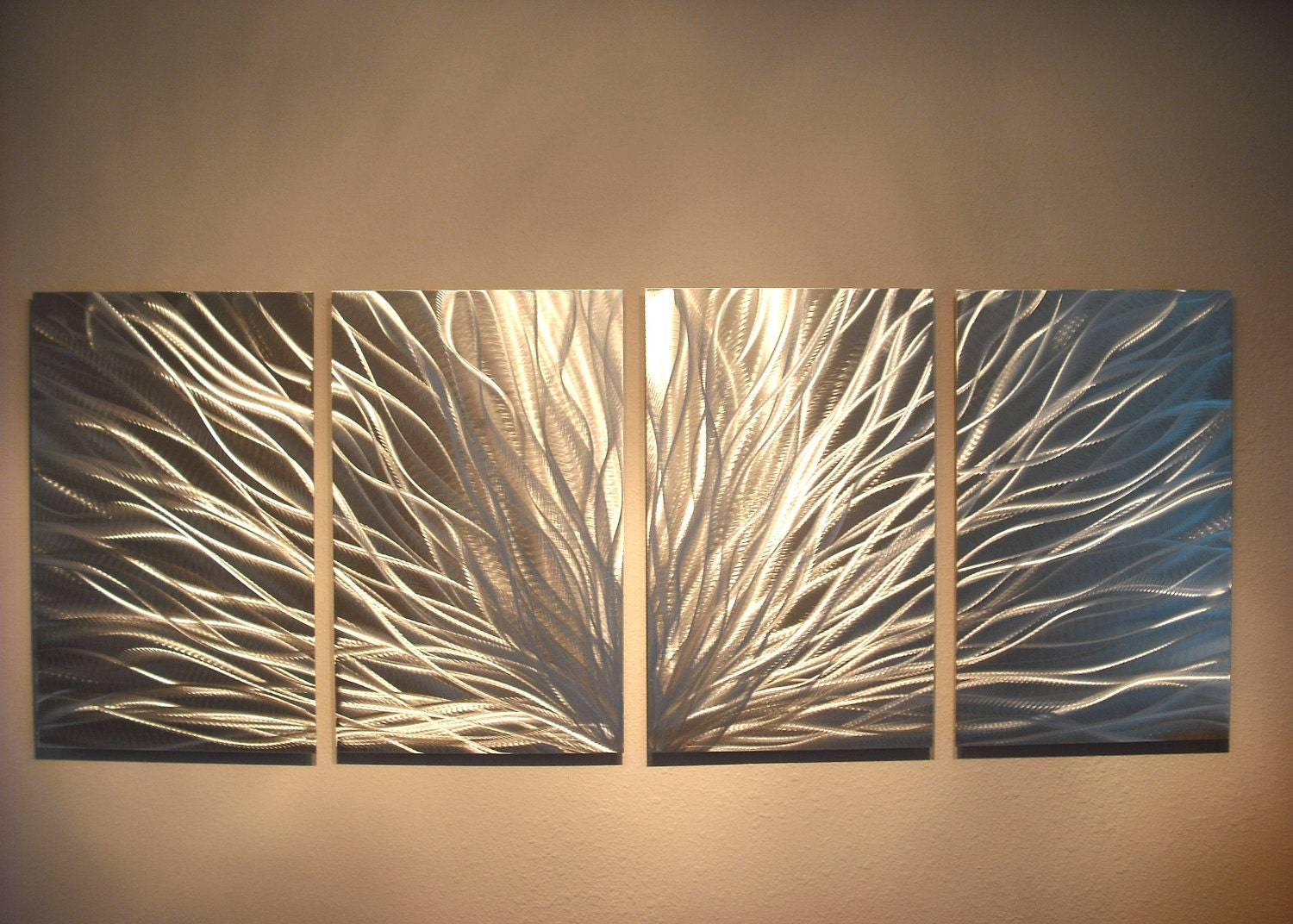 Contemporary Wall Decor Metal Wall Art Decor Abstract Aluminum Contemporary Modern