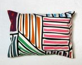 IKEA Lillivi abstract canvas decorative pillow cover
