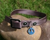 """100% Up-cycled Dog Collar L (up to 20"""")"""