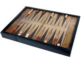 Backgammon MINI Board Game