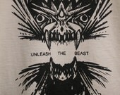 Unleash the Beast Dragon t-shirt available in 2 colors