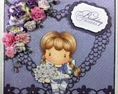 CC Designs Stamps - Bouquet Birgitta - Birthday Wishes