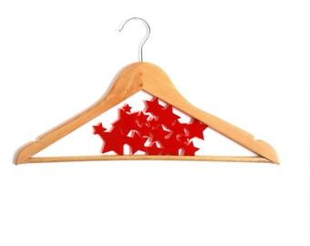 Hanger - Stars - customize hanger - HangOnMe - red