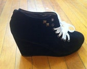 Cute wedge pumps with studs.  Size 7. ON SALE