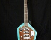 Vintage Domino Californian 12 String Guitar with Original Case Incredibly Rare and Immaculate