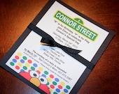 Elmo / Sesame Street Birthday Invitations - Set of 10