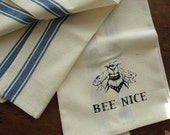 BEE NICE cotton stripe to...