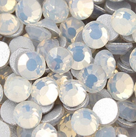 1440 pcs SS12 (3.0mm) High Quality Crystal Flatback Rhinestones - 2028 White Opal (White Opal 234) No Hotfix