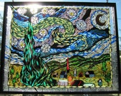 Starry Night Mosaic - Blissed Out Glass Works
