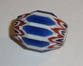 Antique African Chevron Trade Bead Murano