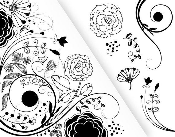 7 Flower Designs And a Floral