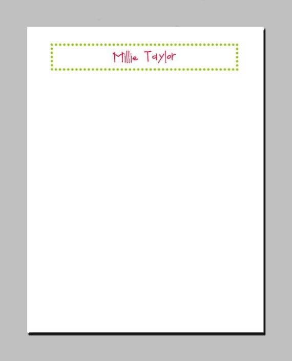 Preppy Polka Dot Notepads (Set of 2)