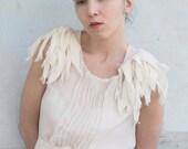 Tunic . Boho style. White blouse