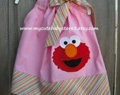 RESERVED LISTING FOR ( Sherry ) Pink Elmo dress,,,,,size 3t, Ernie and Burt Suspenders Shirt ,,,,,,size 24m