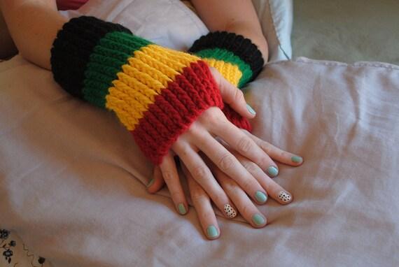 Rasta hand warmers