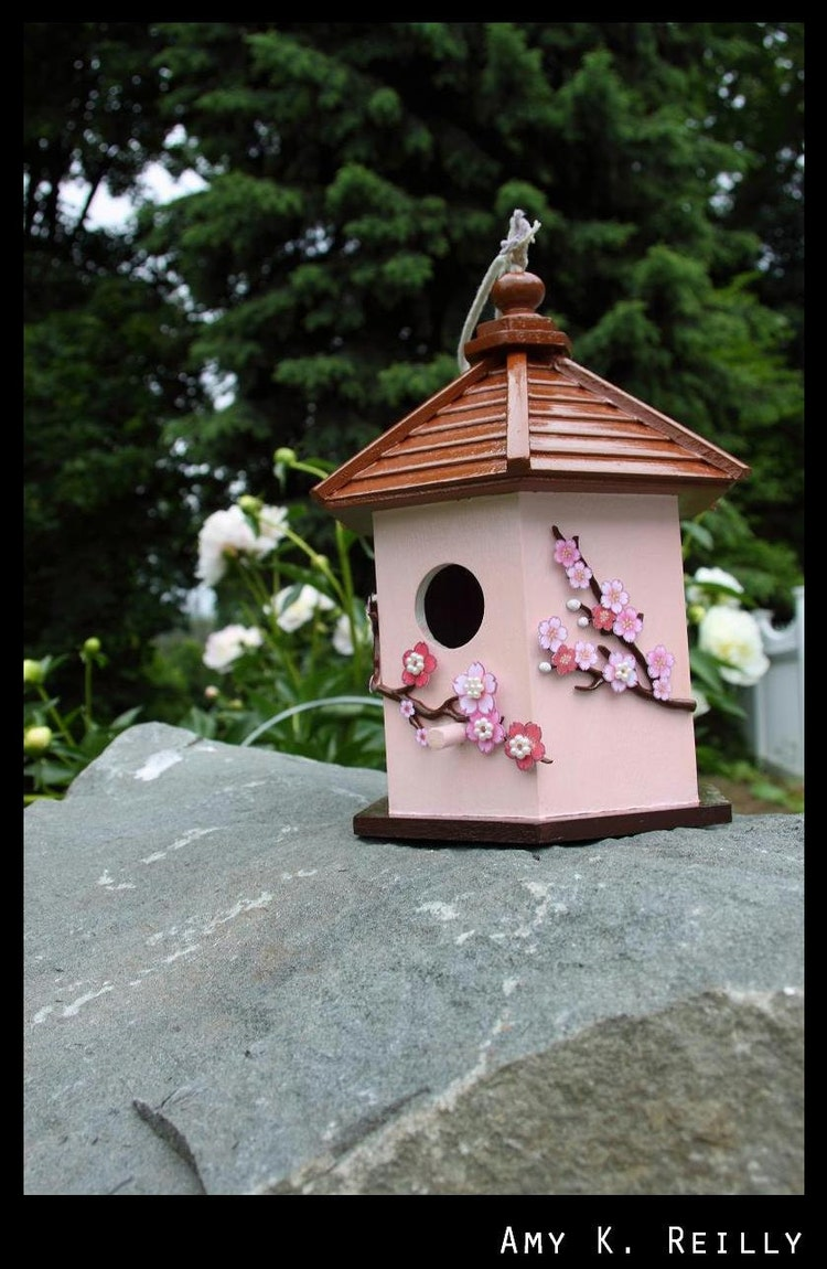 Japanese Pagoda Birdhouse By Doodaala On Etsy