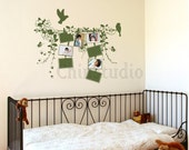 Wall Decals, wall decals kids, wall stickers nursery decals-Photo frame with bird