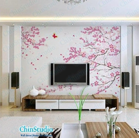 Wall decal cherry blossom tree hd images