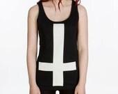 Girls Inverted Cross Vest