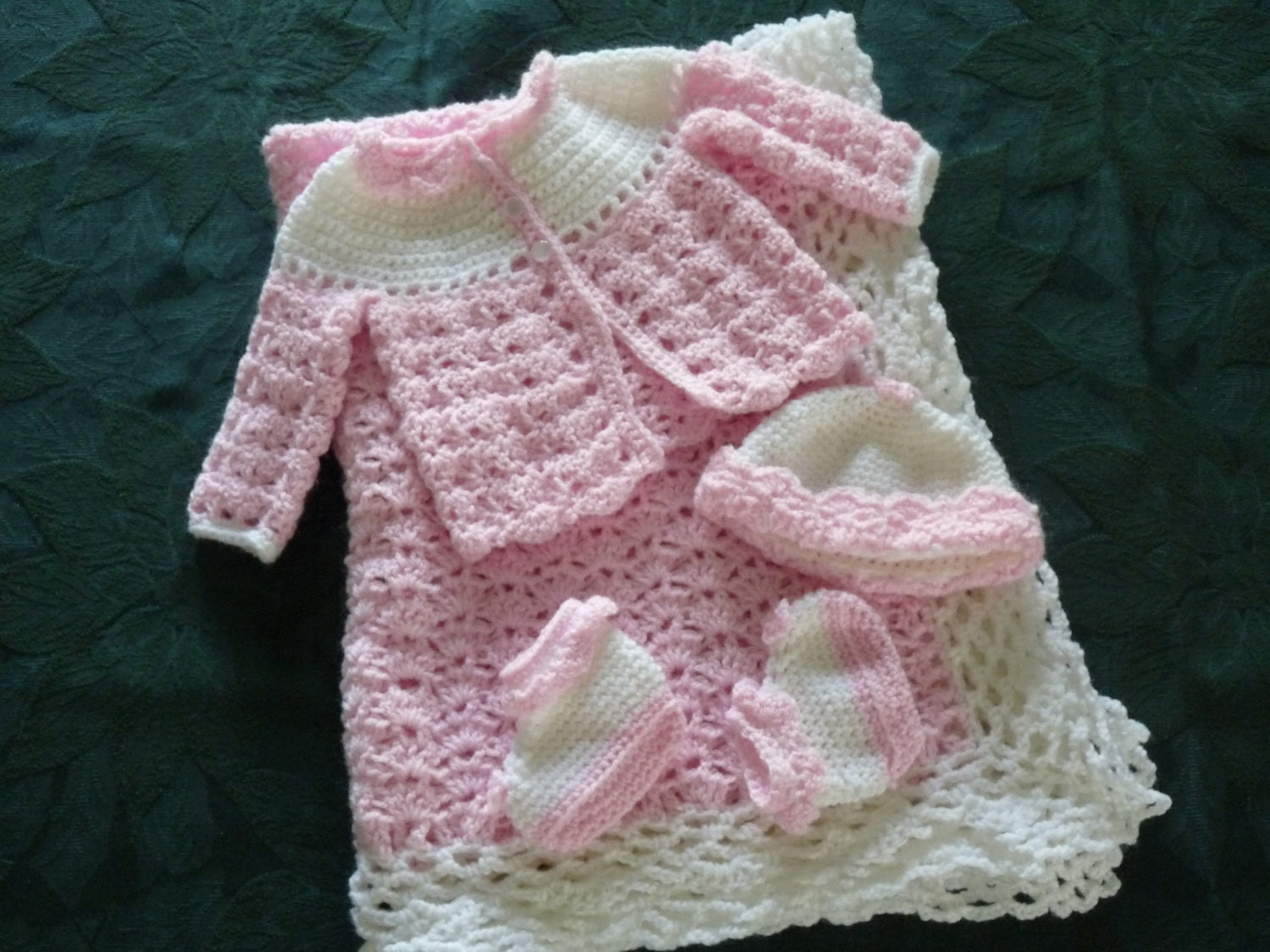 Free Printable Baby Layette Crochet Patterns: Cute baby knitting ...