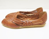 Perfect Huaraches - 7.5 - Braided Leather Flats