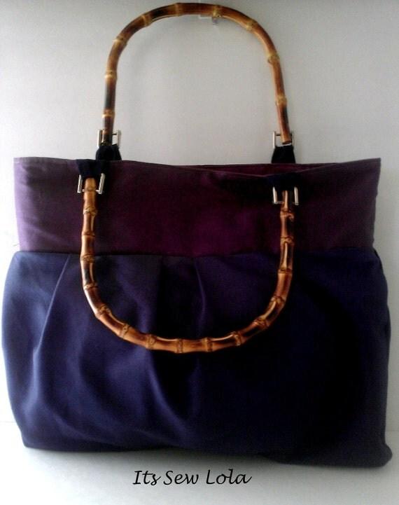 The Lydia Ombre Pleated Handbag