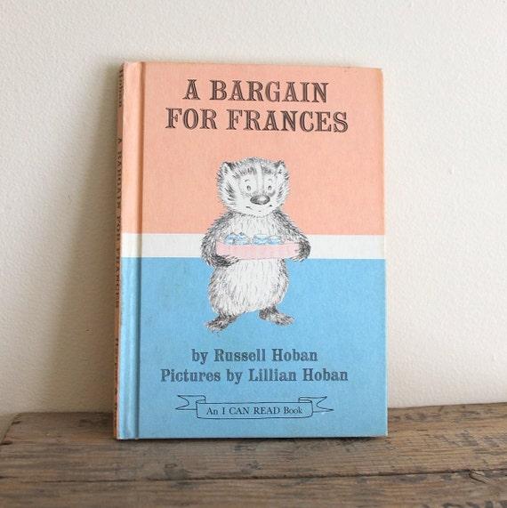 Vintage 1970s Children's Book - A Bargain for Frances
