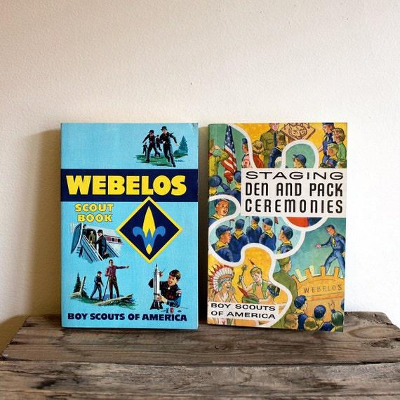 Vintage Boy Scout Book Set - 1960s