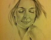 Female Study - Original Drawing
