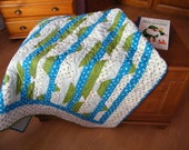 Baby or toddler quilt 'The Alps'