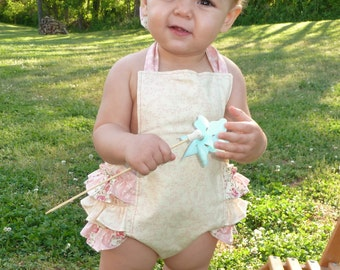 ruffle bubble romper toddlers