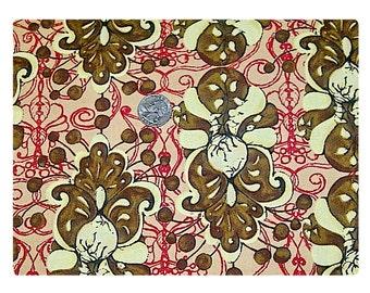 Le Chocolat Fleur - Fabric By The Yard