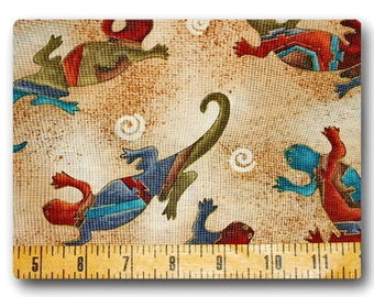 Southwestern Salamander - Fabric By The Yard