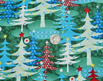 Snow Queen by Northcott - Fabric By The Half Yard 18 inches x 44 inches