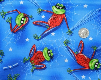 FQ Rare OOP Spidey Frog VHTF 18 inches x 22 inches