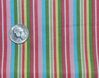 LAST YARD Sorbet Stripe - Fabric By The Yard