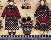 Joined at the Heart Friendship Fabric MUMMS the WORD Woodland Fabric by Debbie Mumm Autumn Fall FQ