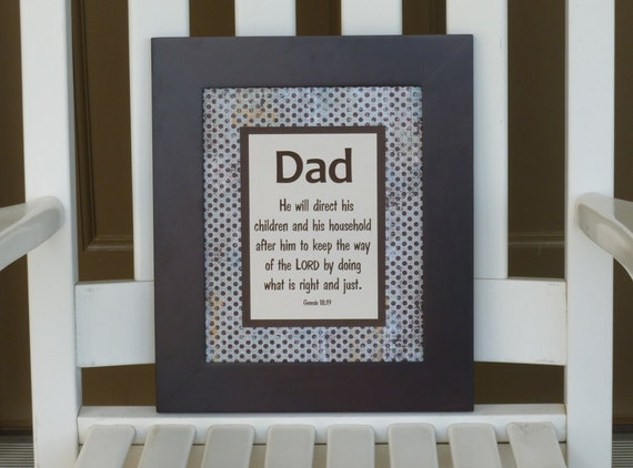 Father's Day gifts, Papa, Poppa, Grandpa, Dad, Father, brown, rustic pattern