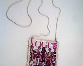 Handmade pendant / frame made of sterling silver
