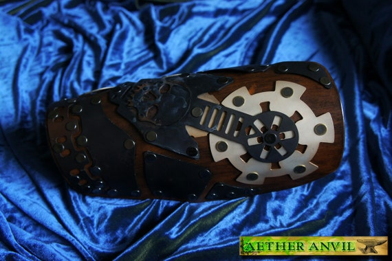 Steampunk Undercity Defiler Bracer Armor