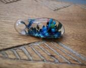 Pendant Glass Hand Blown Boro Implosion Millefiori Lampwork Art Jewelry Handblown Necklace