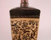 Floral Pattern Bottle