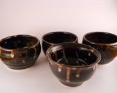 Temmoku Tea bowl Set