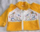 Vintage 1960's Kawaii Mice Baby Newborn Onesie Sleepsuit
